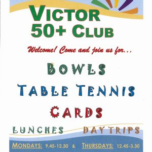 Victor 50+ Club